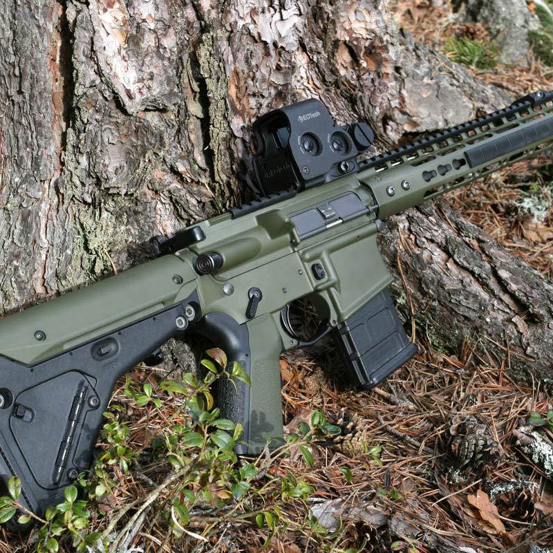 Vapen lackat med Cerakote H