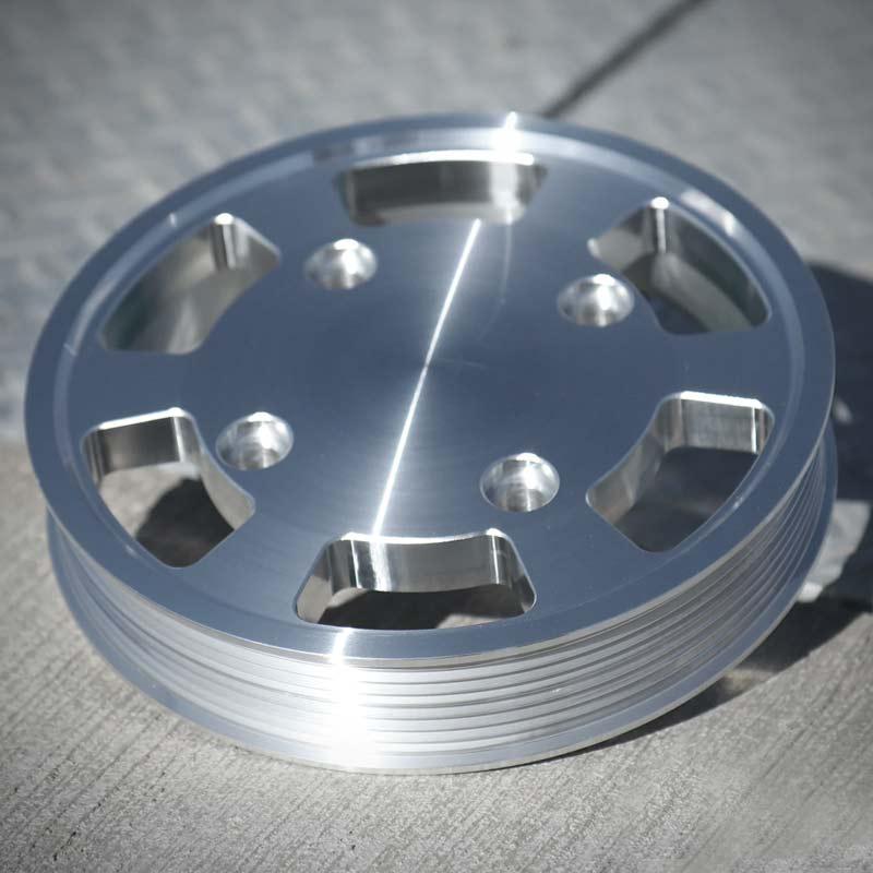 Klarlackad aluminium - Cerakote Clear