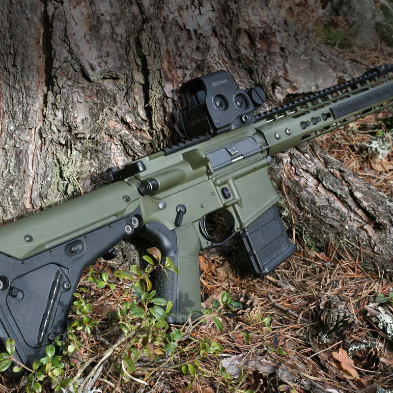 Vapen ytbehandlat med Cerakote H - Ikote