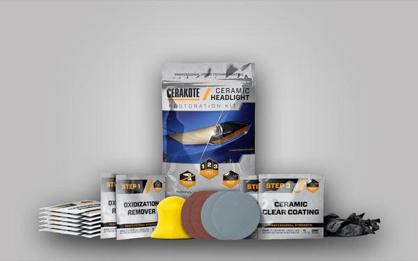 Cerakote Ceramic Headlight keramisk strålkastarrenovering Ikote