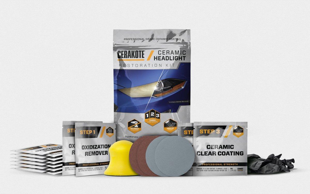 Ceramic Headlight - keramisk strålkastarrenovering