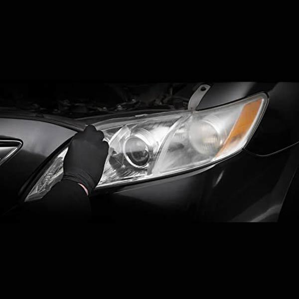 Applicera Cerakote Headlight restauration kit - steg 1